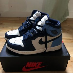 Jordan 1 obsidian colour way size 10.5